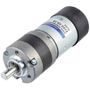 Getriebemotor 40,5 mm, 18:1, 12 V DC MICRO MOTORS