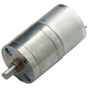 Gearmotor 52,5 mm, 1:100, 3 V DC EKULIT