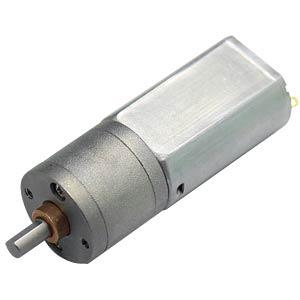 Getriebemotor 66,3 mm, 1:100, 6 V DC EKULIT