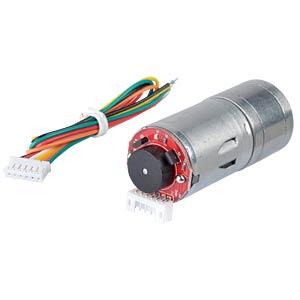 Getriebemotor 87,5 mm, 1:34, 6 V DC EKULIT