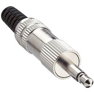 Klinkenstecker, 3,5 mm, Mono, 2-pol LUMBERG 10404