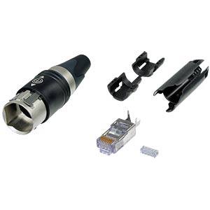 RJ45 Kabelstecker-Set, IP65 NEUTRIK NE8MC6-MO