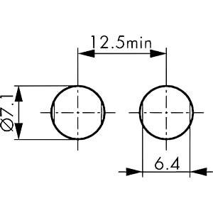 Gerätebuchse, B-Serie 00, 2 polig LEMO EGG.00.302.CLL