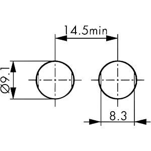 Gerätebuchse, B-Serie 0B, 5 polig LEMO EGG.0B.305.CLL