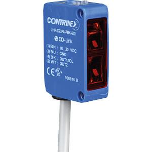 Reflectielichtknop, 10 - 300 mm, PNP, lichtschakelend + IO CONTRINEX LHR-C23PA-PMK-60C