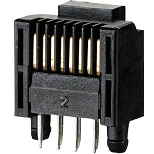 Leiterplattenstecker, RJ45, stehend, lötbar RIA CONNECT AJP92A8813