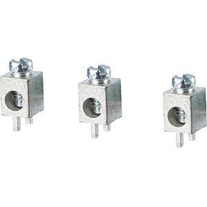 LSK 381 - Schraubklemme, 1-pol, Ø 2,5 mm