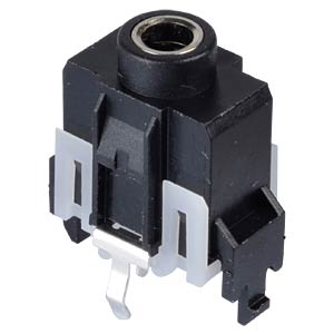 Jack connector, 3,5 mm, Stereo, 3-Pol, stehend LUMBERG 1503 18
