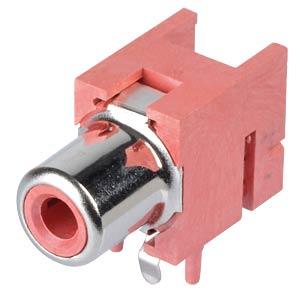 RCA jack, PCB, RT LUMBERG 1553 02 rot