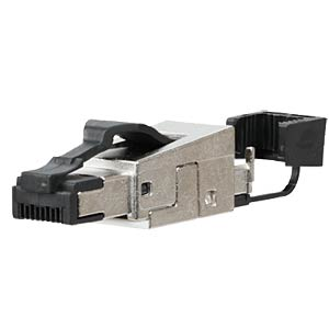 Feldstecker RJ45, Cat6a METZ CONNECT 130E405032-E