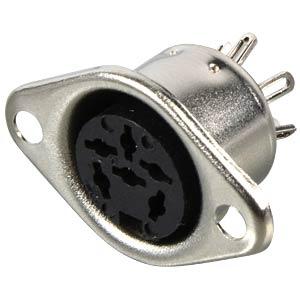 DIN socket, 6-pin BELDEN 930-011-200