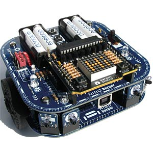 Arduino Shield - Roboter maroon Shield, 8x8 LED NICAI SYSTEMS MAROON SHIELD