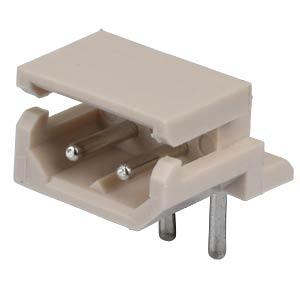 Molex Stiftleiste 90° - SPOX - 1x2-polig - Stecker MOLEX 5268-02A / 2205-7025