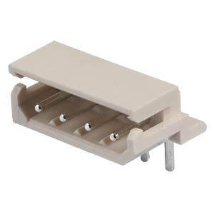 Molex Stiftleiste 90° - SPOX - 1x4-polig - Stecker MOLEX 5268-04A / 2205-7045