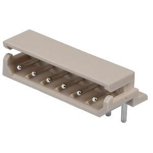 Molex Stiftleiste 90° - SPOX - 1x6-polig - Stecker MOLEX 5268-06A / 2205-7065