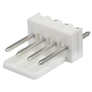 Molex Stiftleiste - KK - 1x4-polig - Stecker MOLEX 6410-04A / 2227-2041