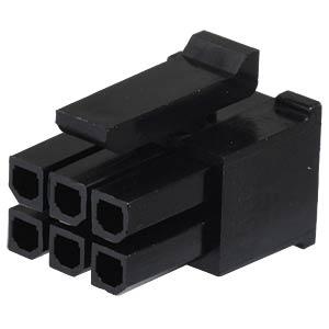 Molex Crimpgehäuse - Micro-Fit - 2x3-polig - Buchse MOLEX 43025-0600