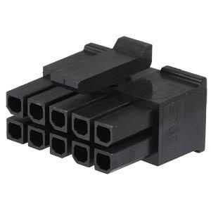Molex Crimpgehäuse - Micro-Fit - 2x5-polig - Buchse MOLEX 43025-1000