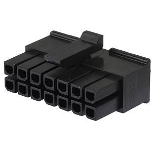 Molex Crimpgehäuse - Micro-Fit - 2x7-polig - Buchse MOLEX 43025-1400