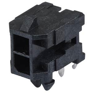 Molex Stiftleiste - Micro-Fit - 2x1-polig - Stecker MOLEX 43045-0200