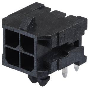Molex Stiftleiste - Micro-Fit - 2x2-polig - Stecker MOLEX 43045-0400
