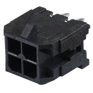 Molex Stiftleiste - Micro-Fit - 2x2-polig - Stecker MOLEX 43045-0412
