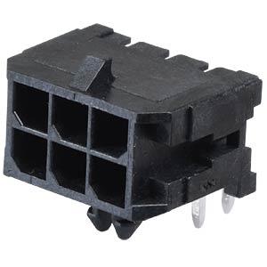 Molex Stiftleiste - Micro-Fit - 2x3-polig - Stecker MOLEX 43045-0600