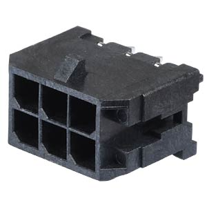 Molex Stiftleiste - Micro-Fit - 2x3-polig - Stecker MOLEX 43045-0612