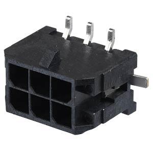 Molex Stiftleiste SMD - Micro-Fit - 2x3-polig - Stecker MOLEX 43045-0618