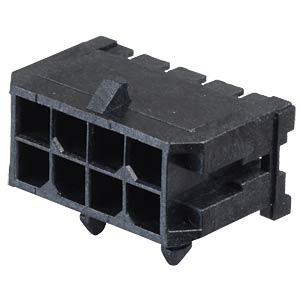 Molex Stiftleiste - Micro-Fit - 2x4-polig - Stecker MOLEX 43045-0800