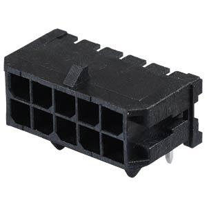 Molex Stiftleiste - Micro-Fit - 2x5-polig - Stecker MOLEX 43045-1000