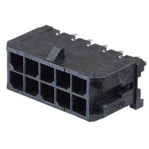Molex Stiftleiste - Micro-Fit - 2x5-polig - Stecker MOLEX 43045-1012