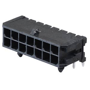 Molex Stiftleiste - Micro-Fit - 2x7-polig - Stecker MOLEX 43045-1400