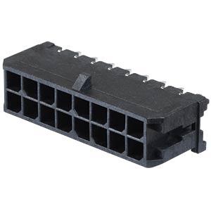 Molex Stiftleiste - Micro-Fit - 2x8-polig - Stecker MOLEX 43045-1612