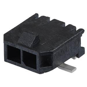 Molex Stiftleiste SMD - Micro-Fit - 1x2-polig - Stecker MOLEX 43650-0212