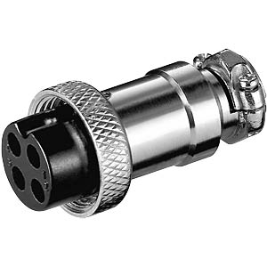 Microphone coupler for radio devices, 4-pin FREI