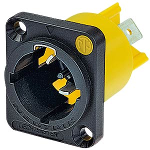 Einbaustecker powerCON TRUE 1, Power-In NEUTRIK NAC3MPX