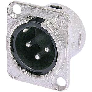 Neutrik XLR flange connector, 5-pin NEUTRIK NC 5 MDL 1