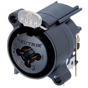 Neutrik Combo Einbaubuchsen XLR / 6,35mm NEUTRIK NCJ6FA-H