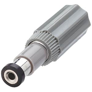 DC power plug, straight, Øi = 1.98 mm, Øa = 6.0 mm, DIN LUMBERG 10450