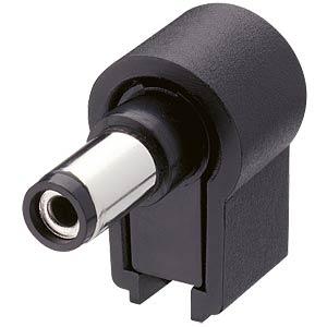 Hohlstecker, gewinkelt, Øi=2,1mm Øa=5,5mm LUMBERG NES/J 21 W