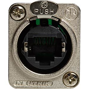 Flange connector RJ45 to RJ45 NEUTRIK NE8FDP