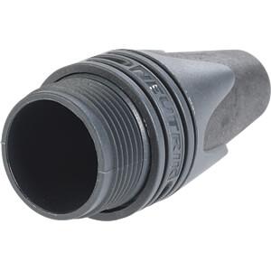 XLR-Spannhülse, Knickschutztülle, schwarz NEUTRIK BXX-0-BLACK