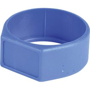 Farbkennring für XLR-Stecker/-Kupplung, blau NEUTRIK XCR-6