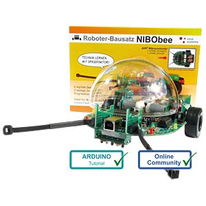 NIBObee — programmable robot kit NICAI SYSTEMS NIBOBEE
