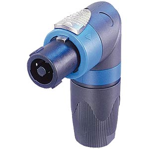 Neutrik Speakon connector, 4-pin, angled NEUTRIK NL4FRX