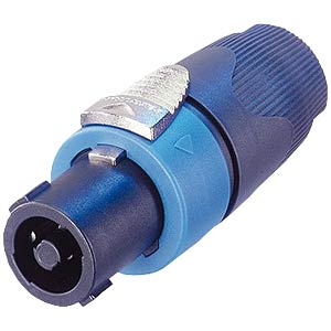 Neutrik Speakon-Stecker, 4-polig, gerade NEUTRIK NL4FX