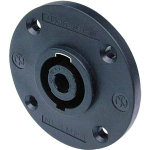 Neutrik Speakon socket, socket, round, 4-pin NEUTRIK NL 4 MPR