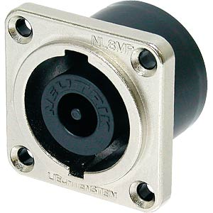 Neutrik Speakon socket, socket, square, 8-pin NEUTRIK NL 8 MPR