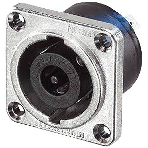 Neutrik Speakon-Einbaustecker, 8-polig, 38x38mm NEUTRIK NLT8MP